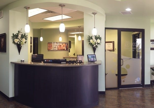 beautiful CCCD front desk