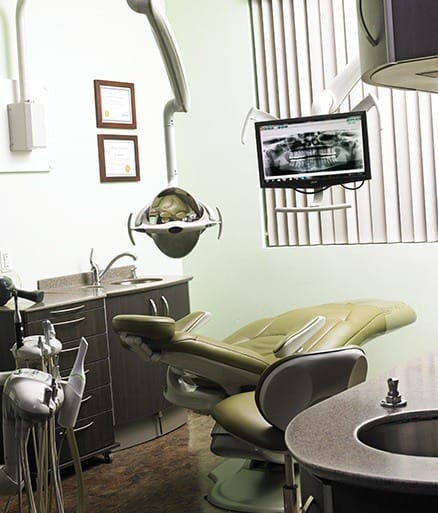 complete Glenpool exam room